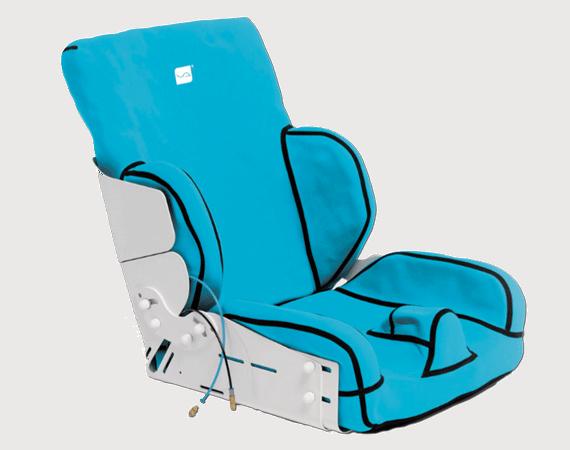 Vakuform moulded seat